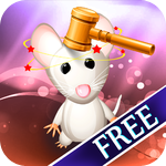 Animal Whack : Cuddle Hammer on Mouse and Monkey and Rabbit - Free Edition